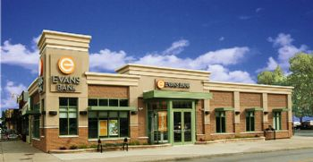 Evans Bank Commercial Commercial Retail Architects Leed